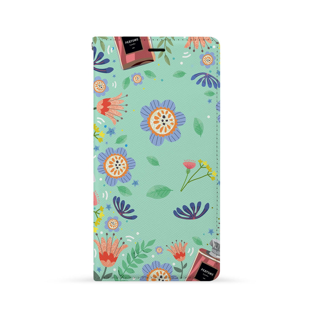 Front Side of Personalized Huawei Wallet Case with 6 design