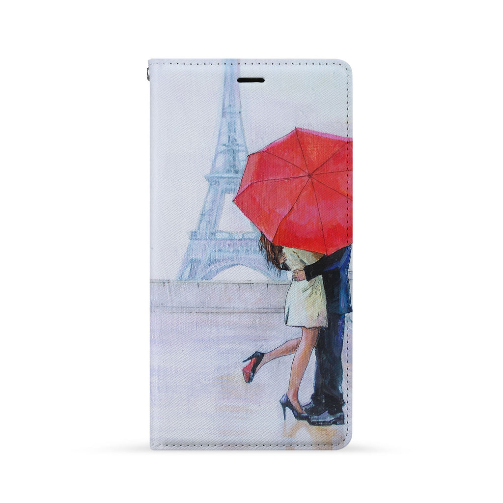 Front Side of Personalized iPhone Wallet Case with 7 design