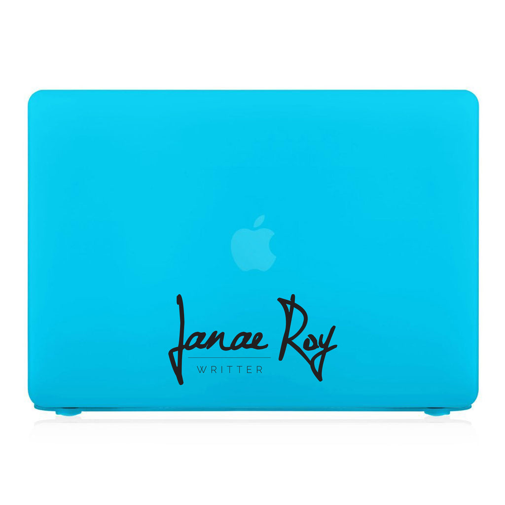 MacBook Case - Signature with Occupation 203