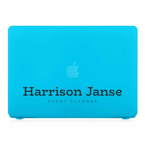 MacBook Case - Signature with Occupation 54