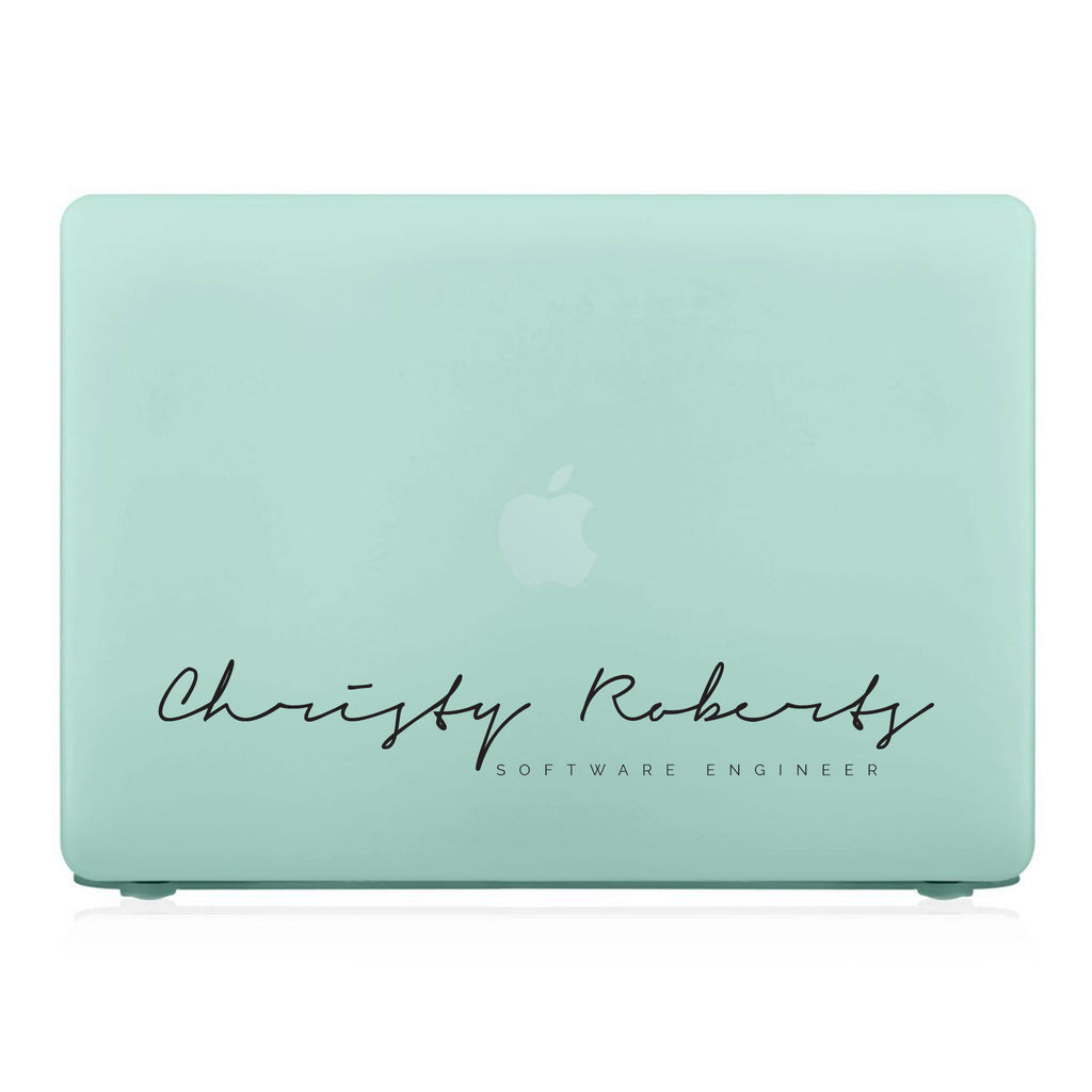 MacBook Case - Signature with Occupation 23