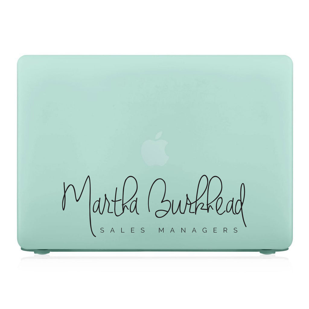 MacBook Case - Signature with Occupation 37