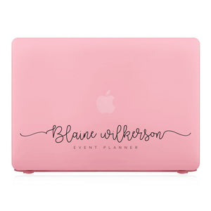 MacBook Case - Signature with Occupation 34