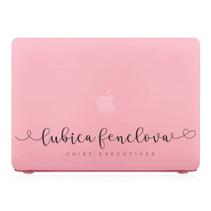 MacBook Case - Signature with Occupation 35