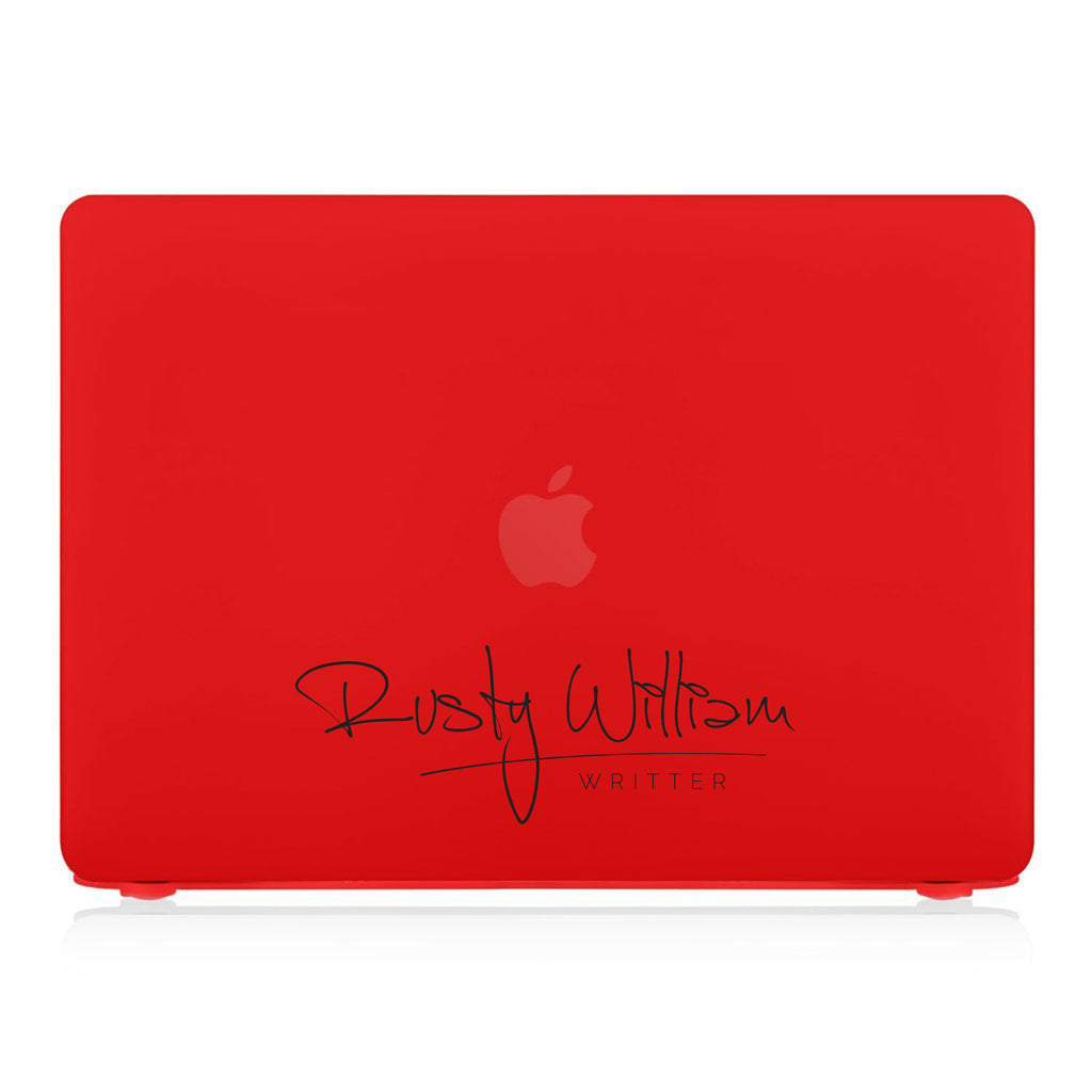 MacBook Case - Signature with Occupation 215