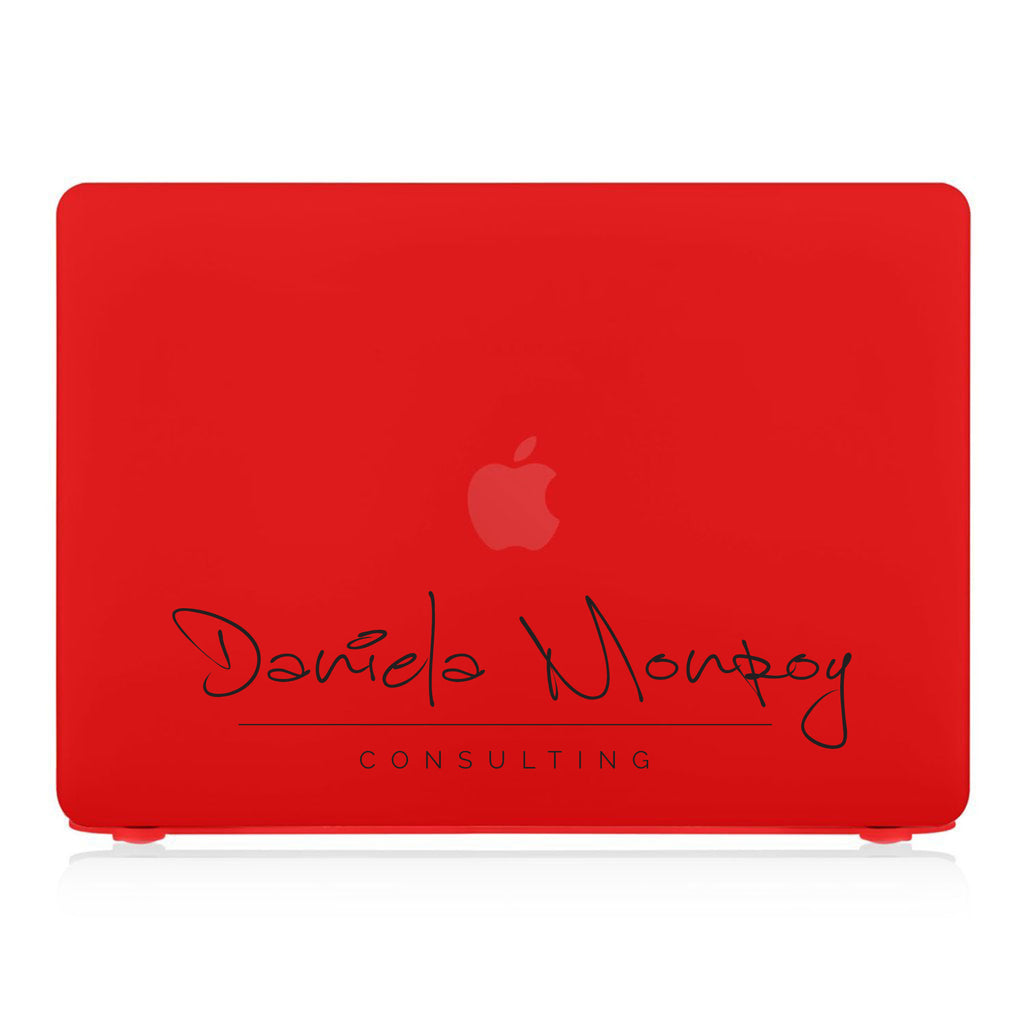 MacBook Case - Signature with Occupation 48