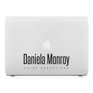MacBook Case - Signature with Occupation 56