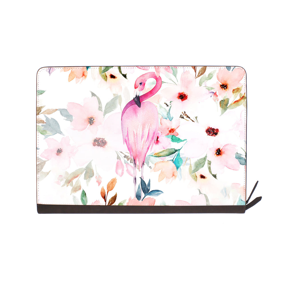 front view of personalized Macbook carry bag case with 08 design
