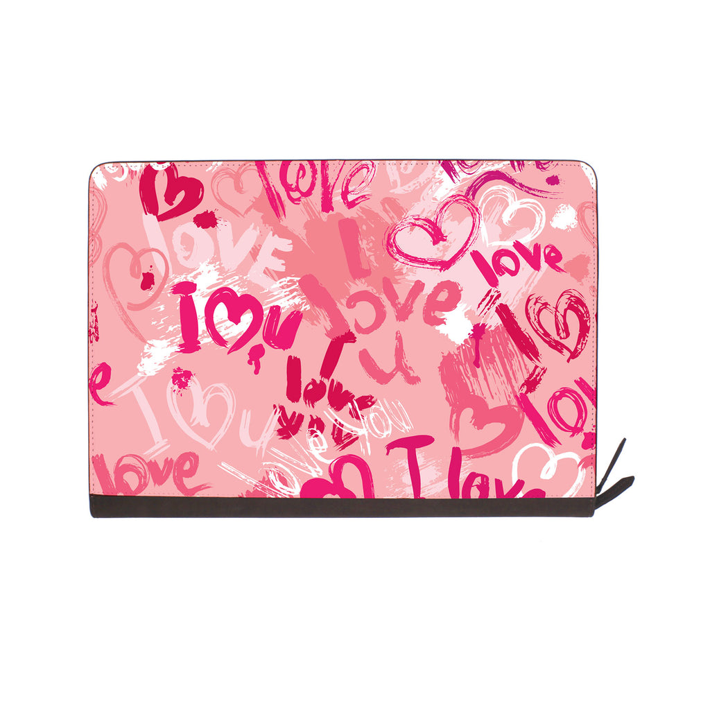 front view of personalized Macbook carry bag case with 03 design