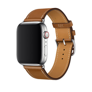 Classic Leather Band for Apple Watch Band - Fauve