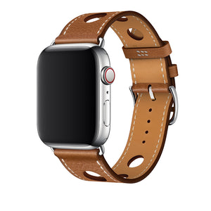 Leather Band for Apple Watch Band - Brown