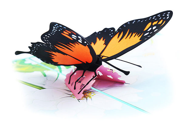 Pop Up 3D Greeting Card - Butterfly