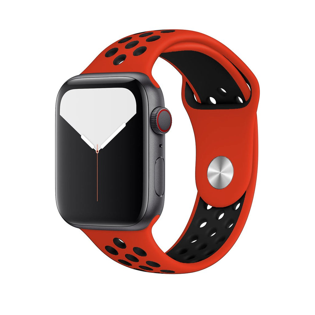 Sport Band Active for Apple Watch - Red Black