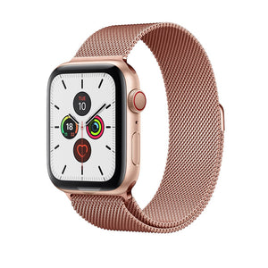 Milanese Loop Band for Apple Watch - Rose Gold