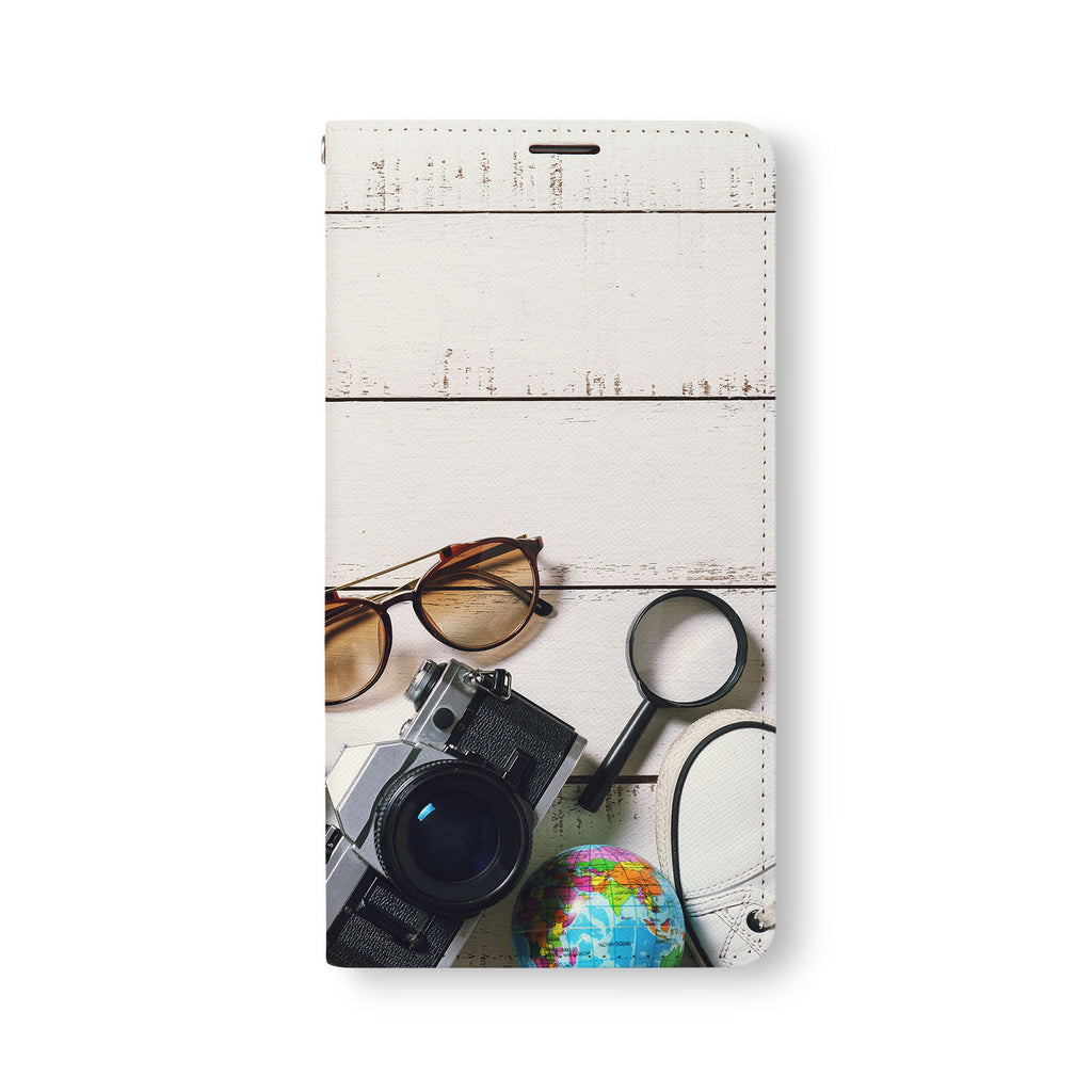 Front Side of Personalized Samsung Galaxy Wallet Case with 4 design