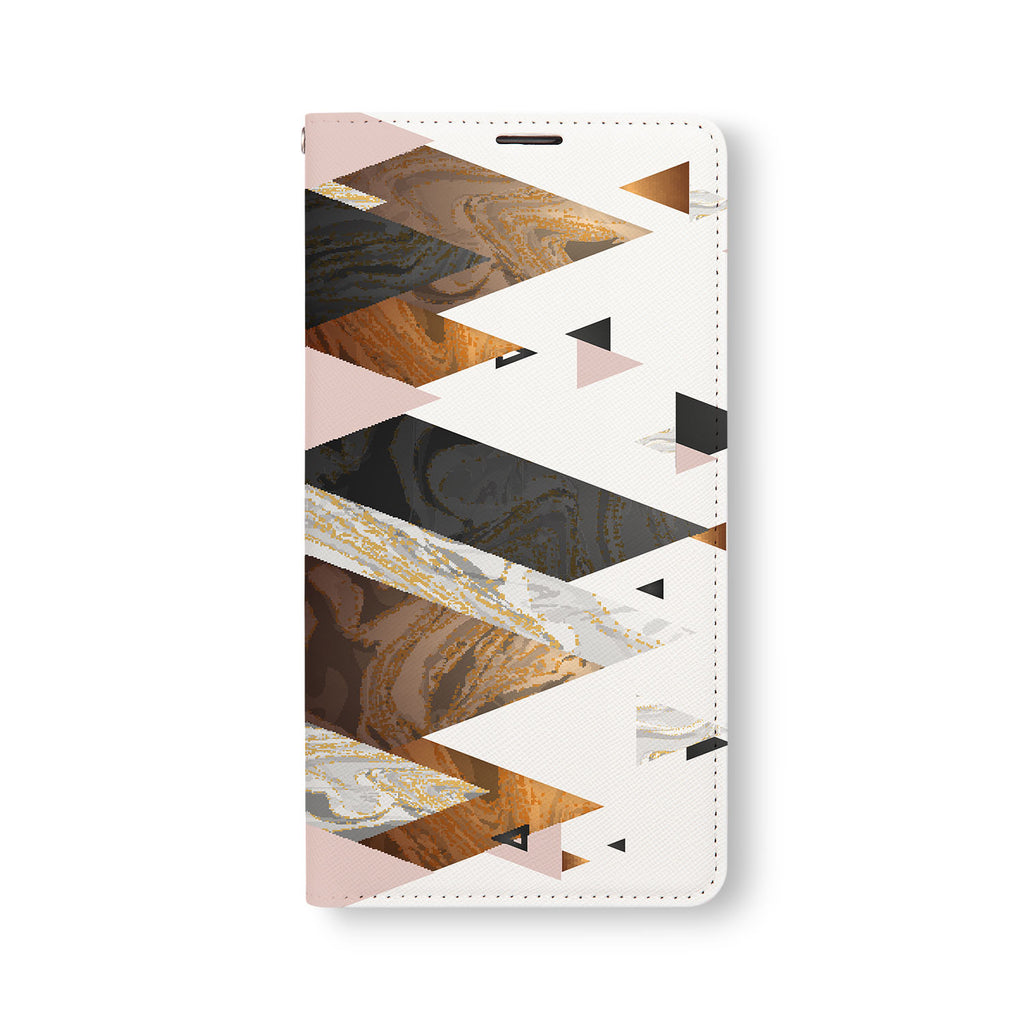 Front Side of Personalized Samsung Galaxy Wallet Case with 05 design
