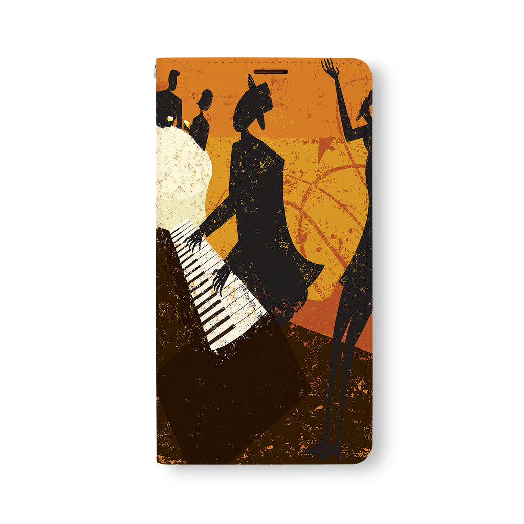 Front Side of Personalized Samsung Galaxy Wallet Case with 7 design