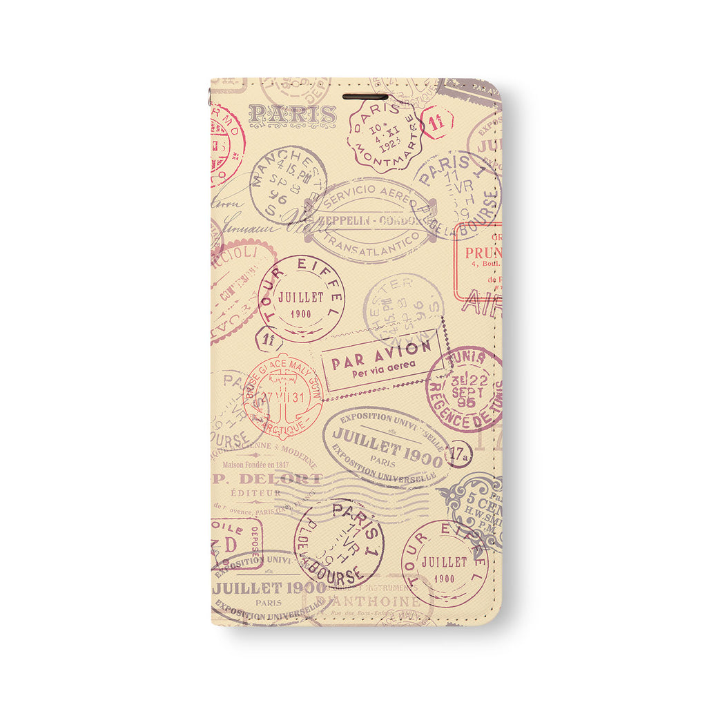 Front Side of Personalized Samsung Galaxy Wallet Case with 5 design