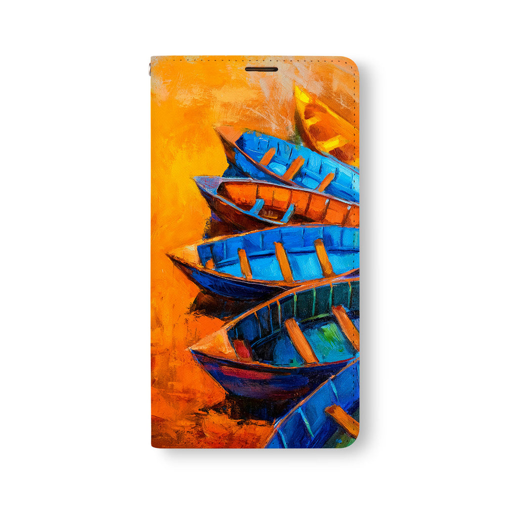 Front Side of Personalized Samsung Galaxy Wallet Case with 6 design