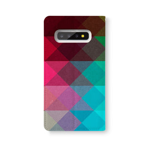 Back Side of Personalized Samsung Galaxy Wallet Case with ###DESIGNKEYWORD### design - swap