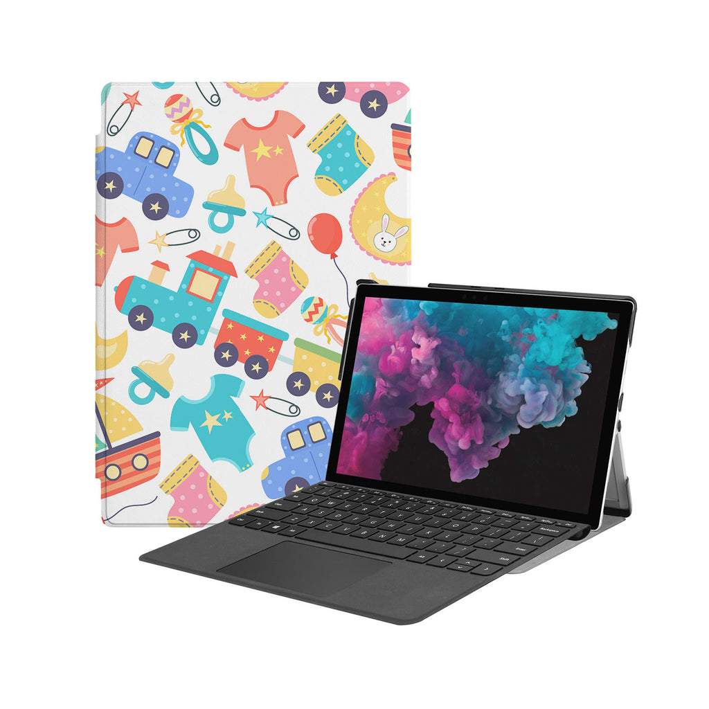 the Hero Image of Personalized Microsoft Surface Pro and Go Case with 04 design