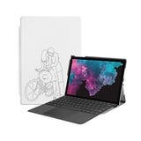 the Hero Image of Personalized Microsoft Surface Pro and Go Case with 02 design