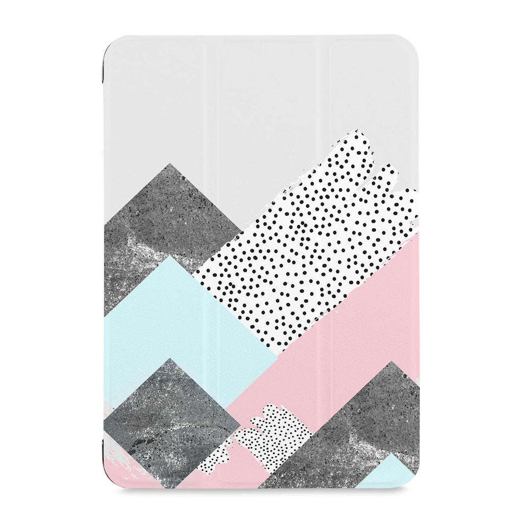 the front view of Personalized Samsung Galaxy Tab Case with 07 design