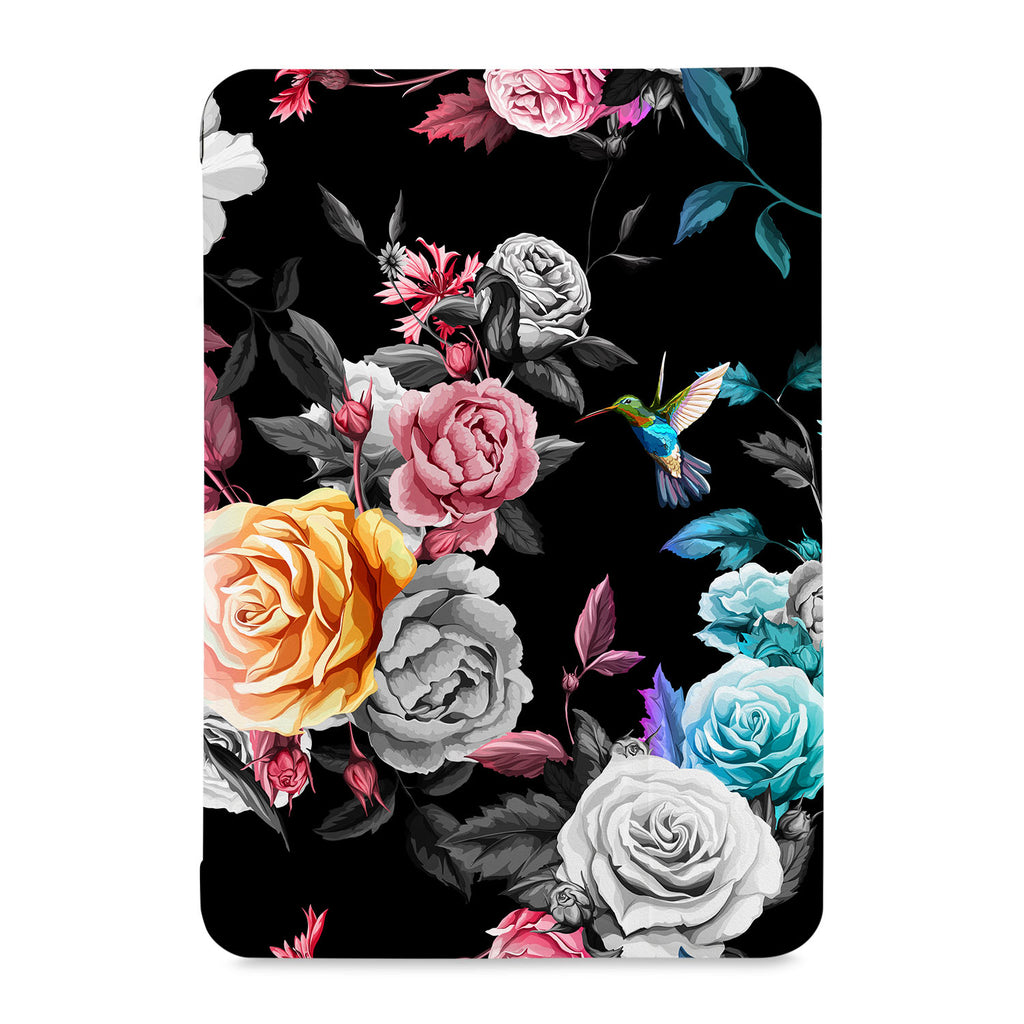 the front view of Personalized Samsung Galaxy Tab Case with 01 design