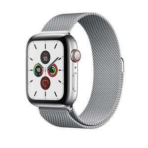 Milanese Loop Band for Apple Watch - Silver