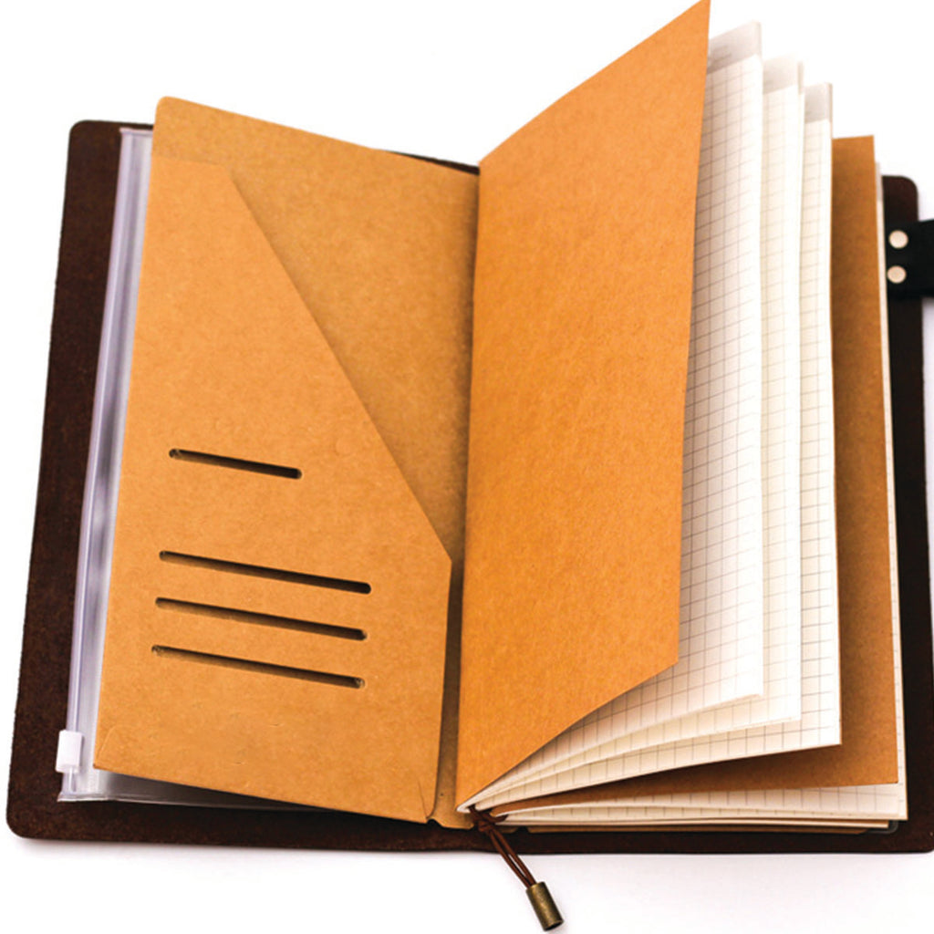 Traveler's Notebook - Kraft Envelope Pocket
