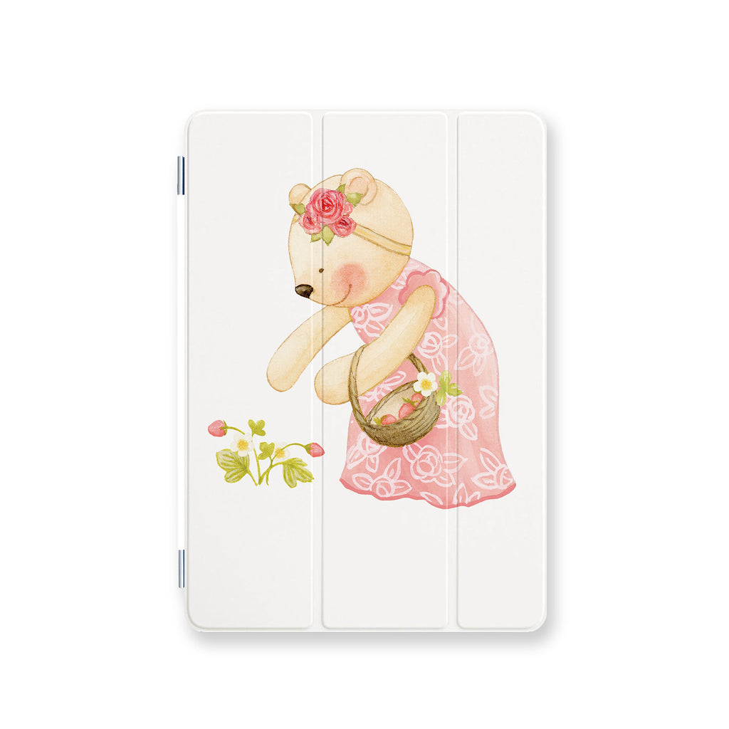 front view personalized iPad case smart cover with 05 design