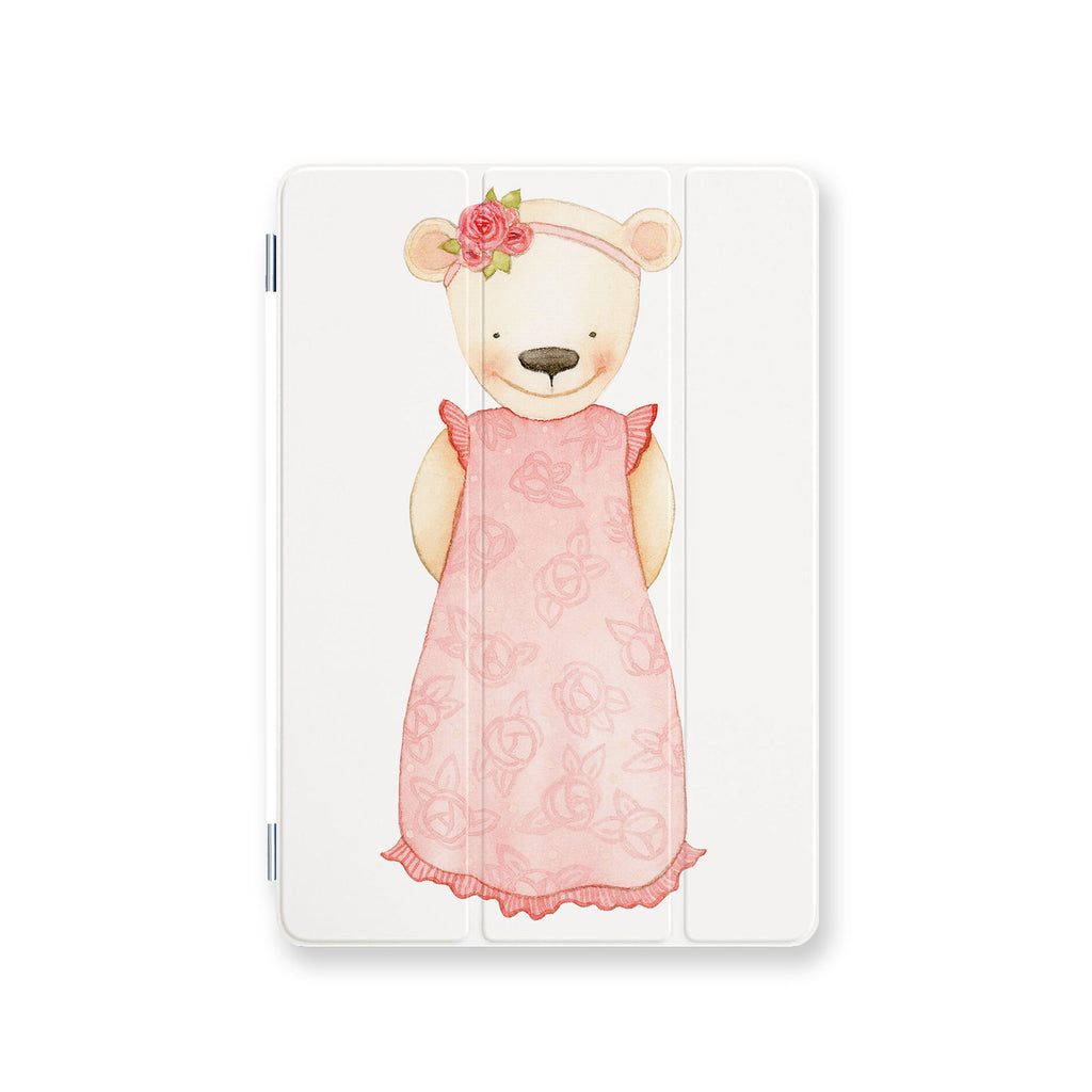 front view personalized iPad case smart cover with 03 design