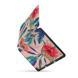 personalized iPad case with pencil holder and Stay Wild design