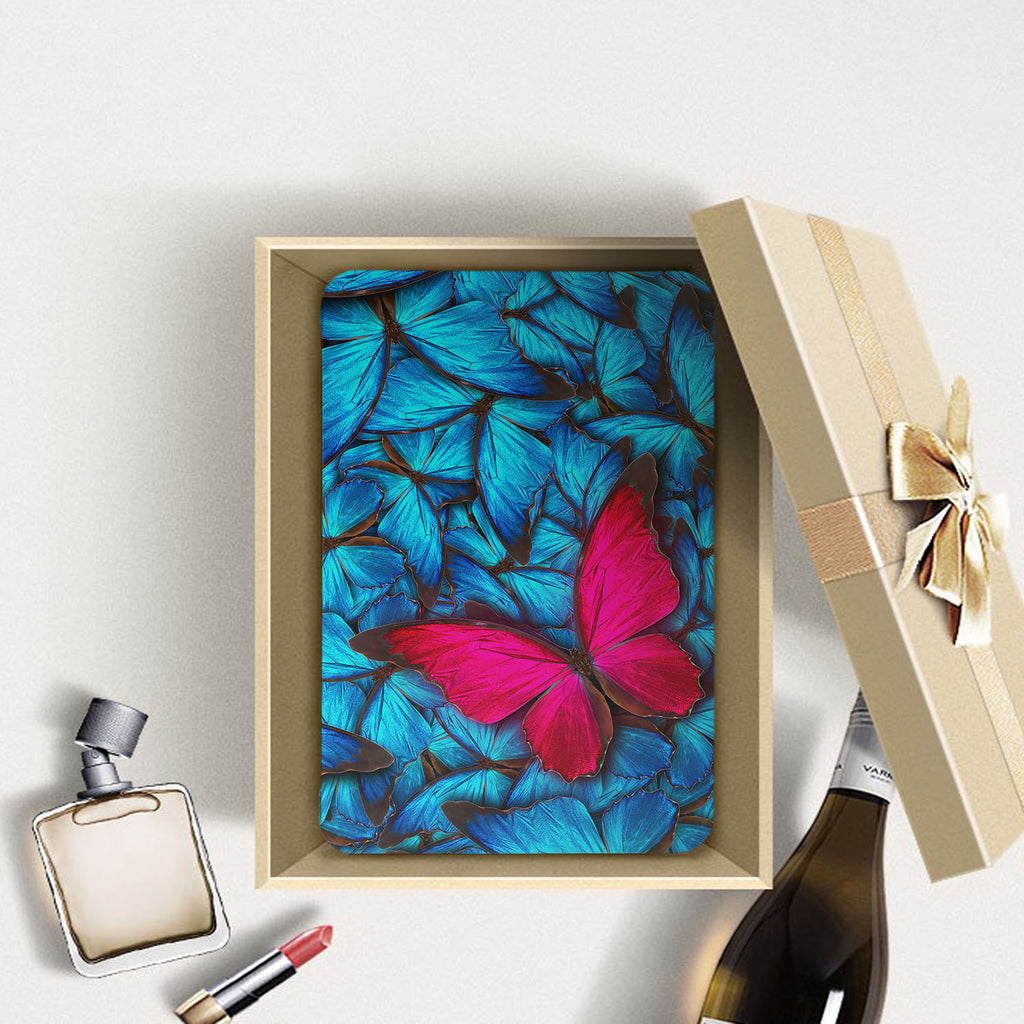 Personalized Samsung Galaxy Tab Case with Butterfly design in a gift box