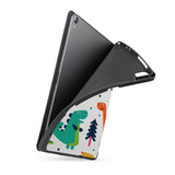 soft tpu back case with personalized iPad case with Dinosaur design