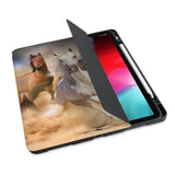 personalized iPad case with pencil holder and ASORTED 01 design