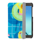auto on off function of Personalized Samsung Galaxy Tab Case with Beach design - swap