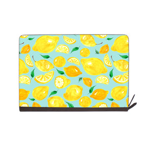 front view of personalized Macbook carry bag case with Fruit design