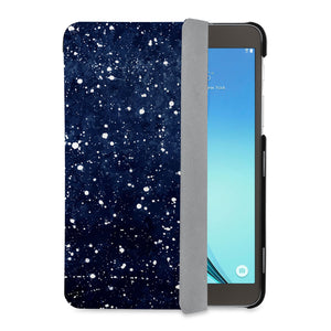 auto on off function of Personalized Samsung Galaxy Tab Case with Galaxy Universe design - swap
