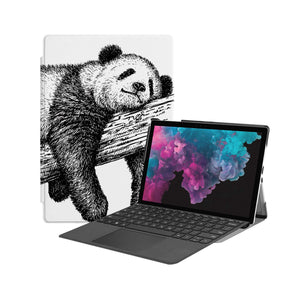 the Hero Image of Personalized Microsoft Surface Pro and Go Case with Cute Animal design