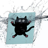 Water-safe fabric cover complements your Kindle Oasis Case with Cat Kitty design