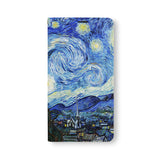 Front Side of Personalized Samsung Galaxy Wallet Case with OilPainting design