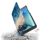the drop protection feature of Personalized Samsung Galaxy Tab Case with Landscape design