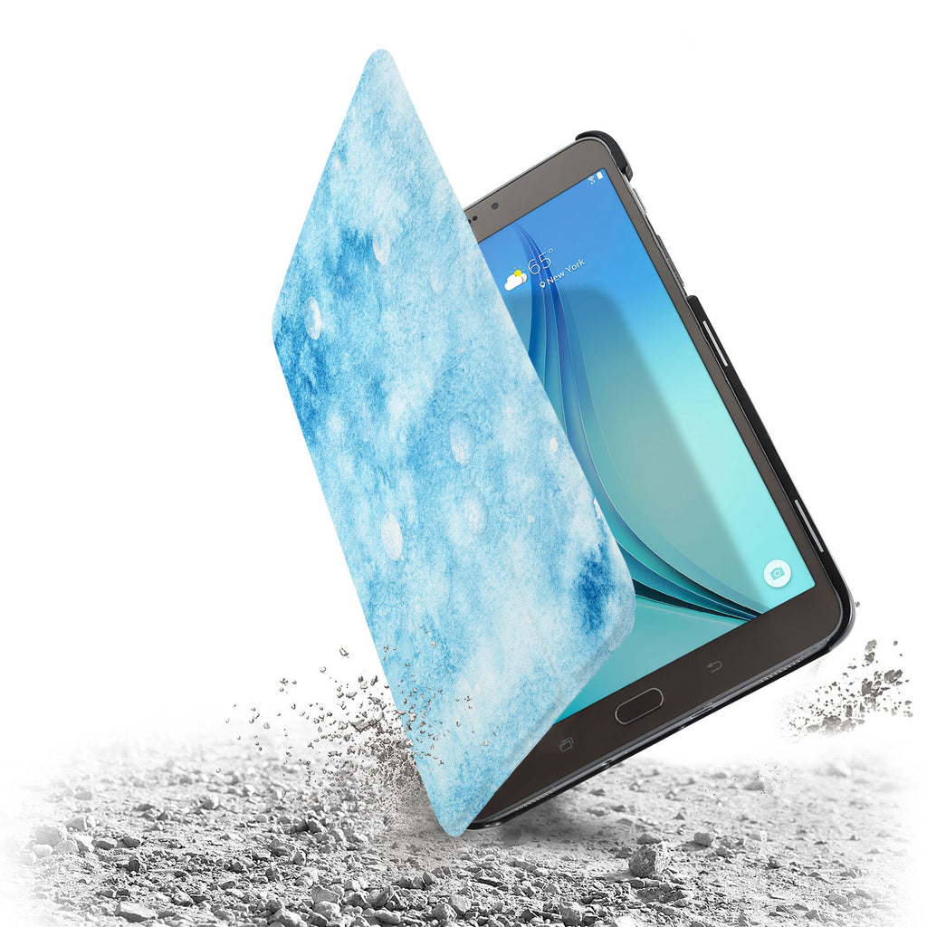 the drop protection feature of Personalized Samsung Galaxy Tab Case with Winter design