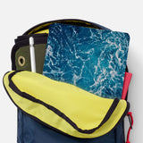 iPad SeeThru Casd with Ocean Design has Secure closure