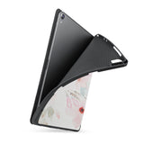 soft tpu back case with personalized iPad case with Flamingo design