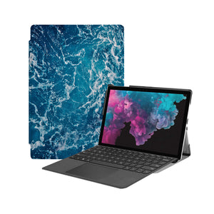 the Hero Image of Personalized Microsoft Surface Pro and Go Case with Ocean design
