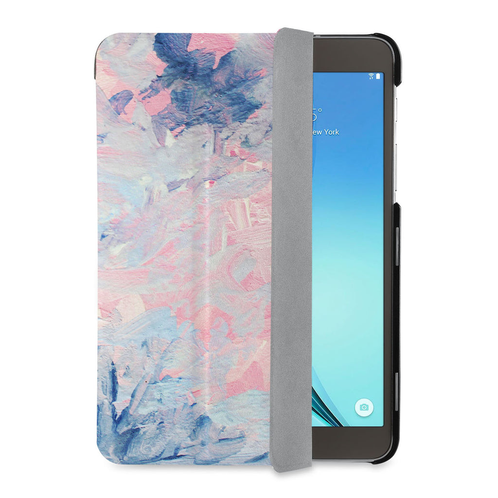 auto on off function of Personalized Samsung Galaxy Tab Case with Oil Painting Abstract design - swap