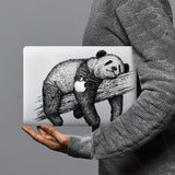 hardshell case with Cute Animal design combines a sleek hardshell design with vibrant colors for stylish protection against scratches, dents, and bumps for your Macbook