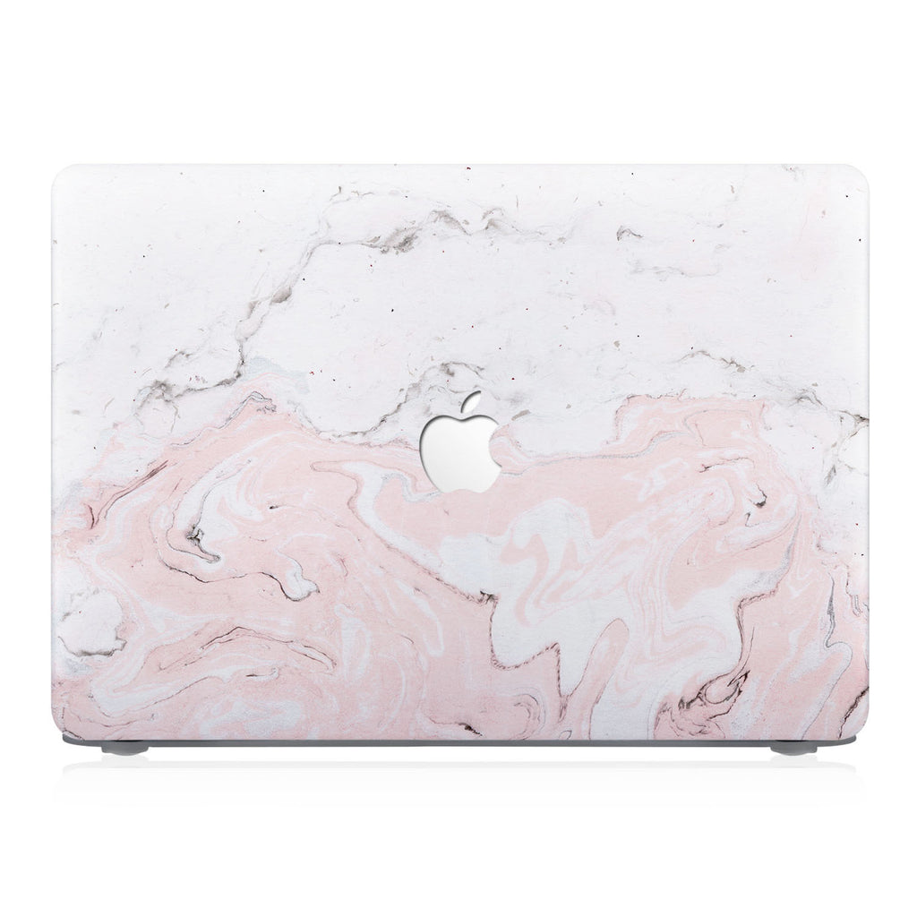 This lightweight, slim hardshell with Pink Marble design is easy to install and fits closely to protect against scratches